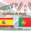 Match: Espagne-Portugal huitième de finale du Mondial 2010