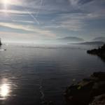 Vue sur le Lac de Neuchâtel depuis la région de St-Blaise