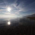 Hiver 2011 - Lac de Neuchâtel, prise de vue depuis Saint-Blaise