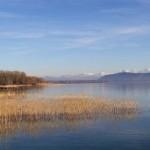 Saint-Blaise Lac vue vers le nord est